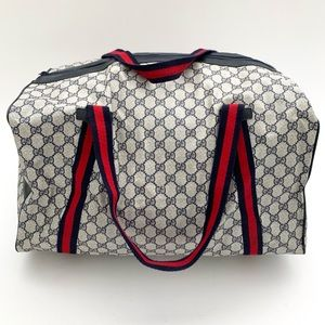 Gucci Packable Travel Duffle Bag